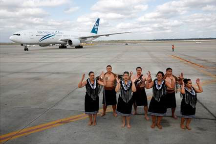 Air New Zealand touches down in Houston