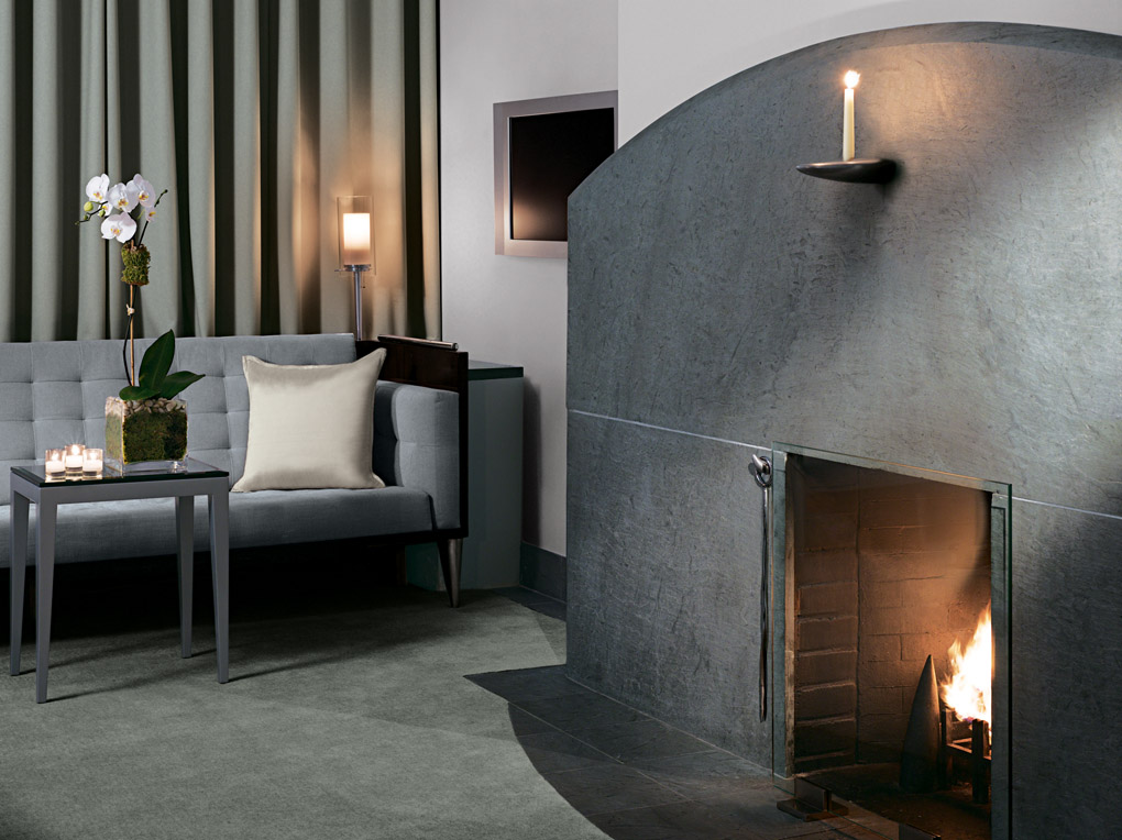Royalton New York has 58 fireplaces in guest rooms