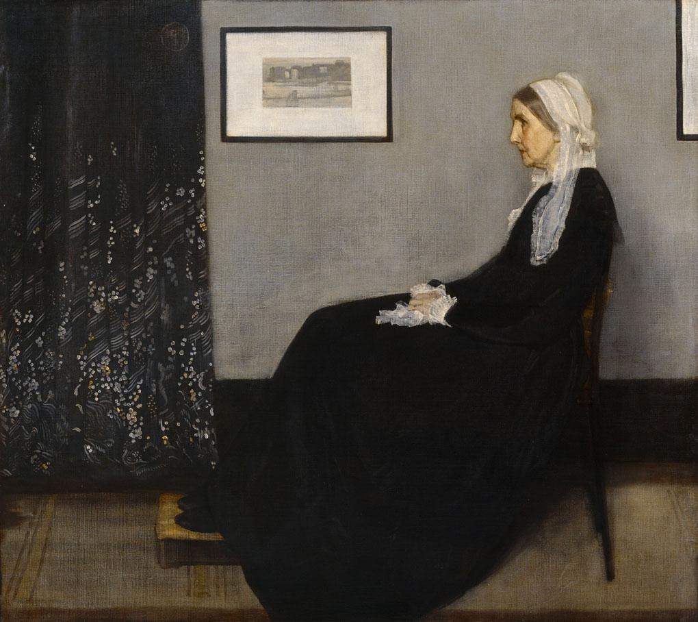 Whistler James Abbott Mac Neil (1834-1903). Paris, musÈe d'Orsay. RF699.