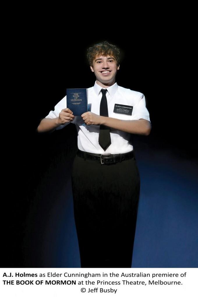 Aj holmes the book of mormon