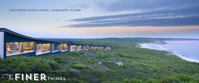 Southern Ocean Lodge Kangaroo Island luxury travel australia