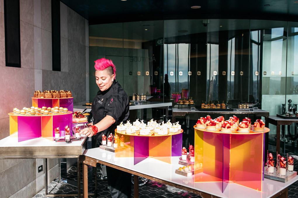 Anna Polyviou, Blu Bar, High Tea, Shangri-La Sydney